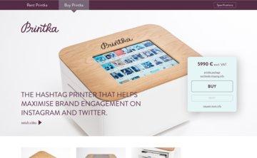 Printka / hashtag tiskárna